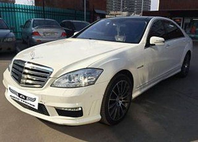 Merсedes-Benz S221  AMG фото