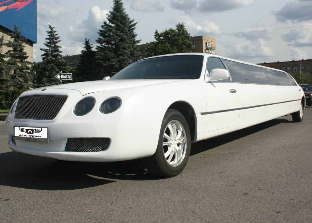 лимузин bentley аренда с водителем на свадьбу
